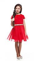 Нарядное детское платье для девочки с бусинками 3121
