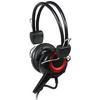 Наушники SVEN AP-640 наушники с микрофоном (кожаные)