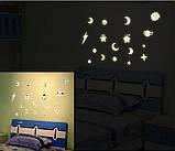 Наклейки світяться в темряві зірочки, місяць, планети (253053), фото 2