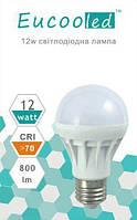 EUСOOLED светодиодная лампа  12W Е27 6400К