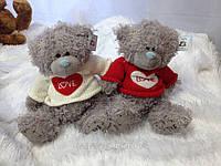 Мягкая игрушка Мишка teddy в свитере,35 см