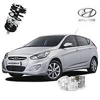 Автобаферы ТТС для Hyundai Accent (2 штуки)
