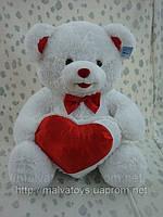 Мишка с сердцем Валентинка,65см