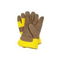Перчатки рабочие, кожанные, мод. RLCMZ
