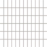Мозаика Albir Bianco Universalne 29,8 x 29,8 (2,3 x 4,8) см PARADYZ