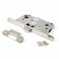 Защелка под ручку и фиксатор для межкомнатных дверей Apecs 5300-WC-NI (никель)