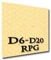 Игровое поле (коврик) для ролевых игр (гекс-песок) (Roleplaying game Battle hex flip-mat (sand))