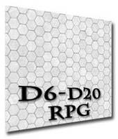 Игровое поле (коврик) для ролевых игр (гекс-подземелье) (Roleplaying game Battle hex flip-mat (dungeon))