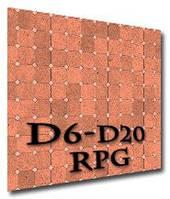 Игровое поле (коврик) для ролевых игр (подземелье 3) (Roleplaying game Battle dungeon flip-mat 3)