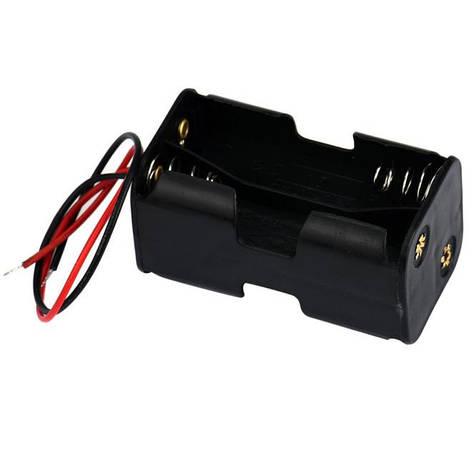 Контейнер для зарядки аккумуляторов 4 х АА, фото 2