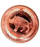 Королевская медная монета  (Realm copper coin (token))