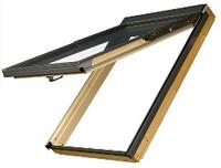 Мансардное окно Fakro влагостойкое с вентиляционным каналом 78*98 FPU-V U3 PreSelect  (Lux)