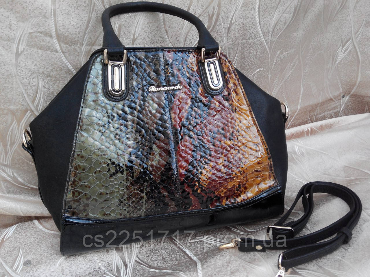 d2d2972b3b55 женская сумка Ronaerdo натуральная кожа цена 499 грн купить в
