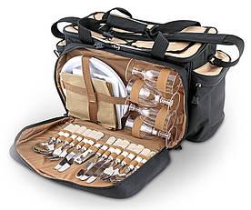 Набор для пикника на 4 персоны Ezetil EZ KC Professional в комплекте с изотермической сумкой 34л (50*30*50см)