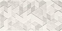 Плитка для стены Emilly Grys Dekor Struktura 30 x 60 см PARADYZ