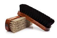 Щетка из конского волоса Lux темный ворс