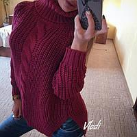 Женский объемный свитер, фото 1