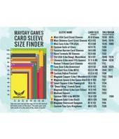 Определитель размера протекторов Mayday  (Mayday games Sleeve finder)
