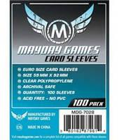Протекторы (кармашки) Mayday Euro (59 мм х 92 мм)  (Euro sleeves (59 мм х 92 мм))