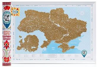 "Карта Украины ""Discovery Map Відкривай Україну!"""