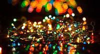 Новогодняя гирлянда на 300 светодиодов