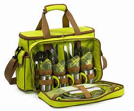 Набор для пикника на 4 персоны Time Eco Picnic в комплекте с изотермической сумкой 16л