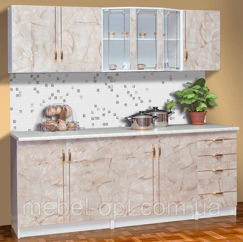 Недорогой кухонный гарнитур Карина на выбор 2 или 2,6м