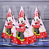 Колпачки картонные детские Минни Маус, 20 см