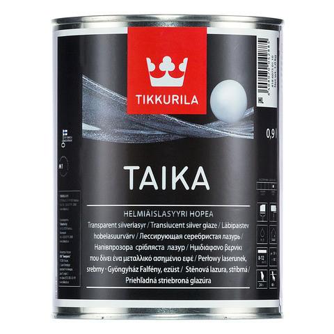 Срібляста лазур Tikkurila Тайка Taika 0,9л HL напівпрозора