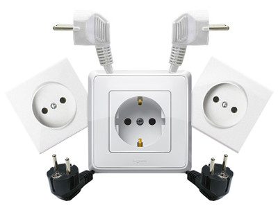Электрофурнитура: розетки, выключатели, рамки