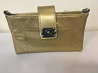 Клатч-кошелек Boy Chanel  с цеточкой