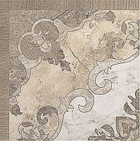 Плитка для пола Tremont Beige Rozeta 40 x 40 см PARADYZ