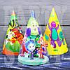 Детские колпачки с героями Ассорти, 16 см