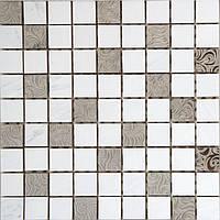 Декор мозаичный  Bardiglio MOS 7111  30 x 30 см Kale
