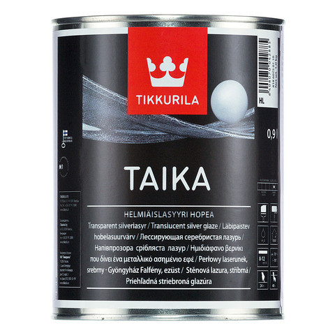 Золотиста лазур Tikkurila Тайка Taika 0,9л KL напівпрозора