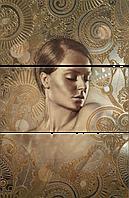 Панно Decor Sirena A (Set 3) 750x500 мм STN Ceramica