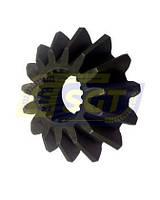Шестерня шлицевая z15 (конусная) для пресс-подборщика Sipma Z224, фото 1
