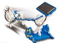 Конструктор-карета на солнечных батар. (72шт/ящ) в коробке
