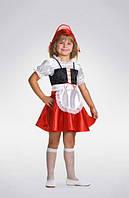 Новогодний костюм Красная Шапочка для девочки 4 - 6 лет