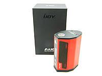 Бокс МОД IJOY MAXO 315 W, на 4 аккумулятора 18650, температурный контроль, красный