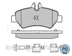 Колодки тормозные (задние) VW Crafter 30-50