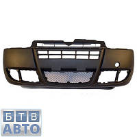 Бампер передній Fiat Doblo 2005-2011 (Polcar 304107-2), фото 1