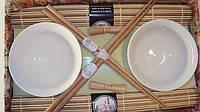 Набор для суши на две персоны белый