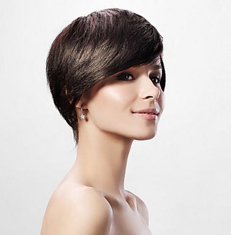Парики из натуральных волос короткой стрижкой