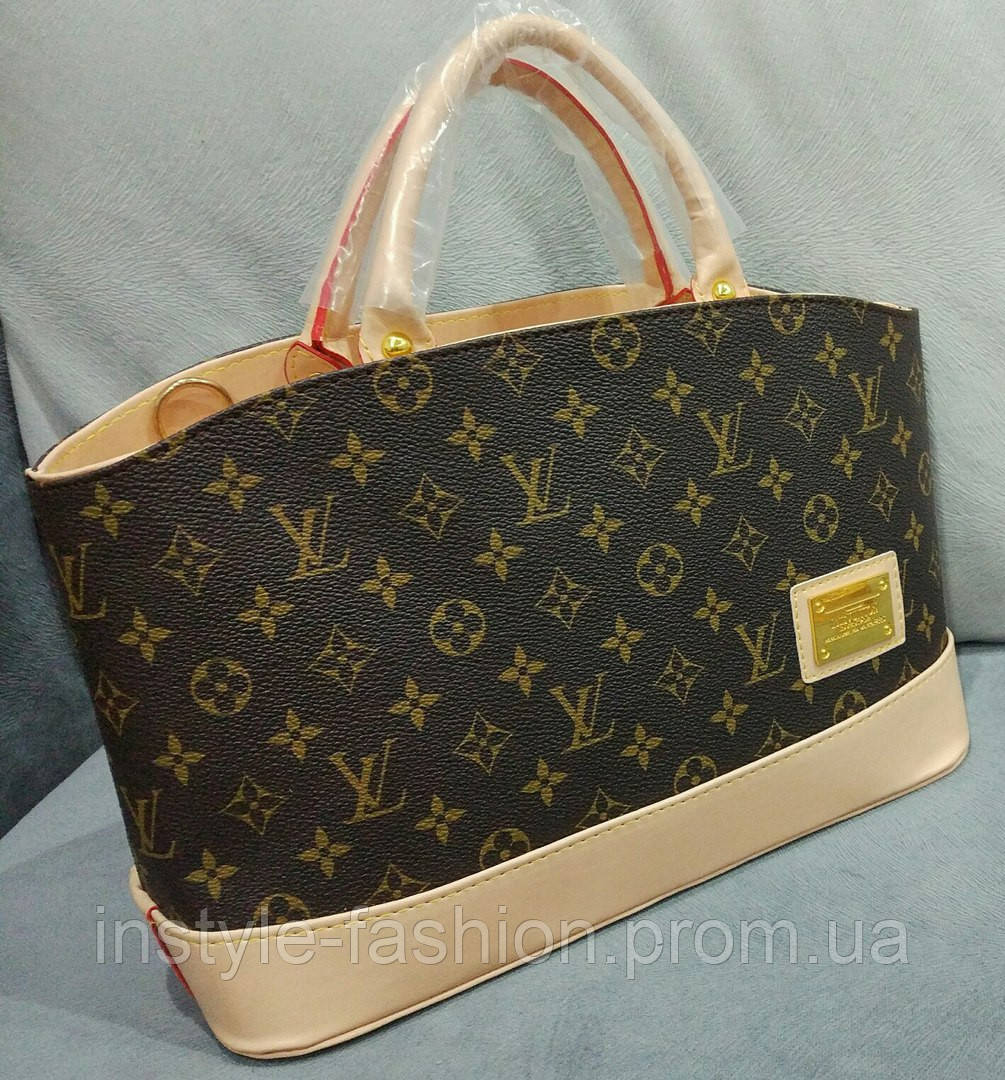 310c3ab5e8b4 Сумка Louis Vuitton Луи Виттон коричневая  купить недорого копия ...
