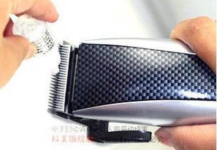 Машинка для стрижки Kemei 650, простота использования, красивый дизайн, полный комплект для стрижки, в коробке, фото 3
