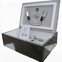 Инкубатор бытовой оцинкованный Наседка ИБМ-70 с механическим переворотом яиц и цифровым терморегулятором