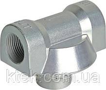 Адаптер алюмінієвий для фільтрів CIMTEK серії 400, впускний отвір 1', протока — до 120 л/хв КИЇВ