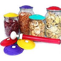 Вакуумный комплект для хранения и консервирования продуктов ( насос и 3 крышки)  MH 50     .dr