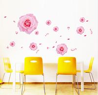 Интерьерная настенная наклейка «Розы»
